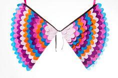 Fancy Dress Costume Bird Wings Fairy Wings