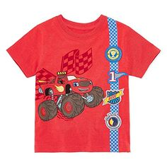 Blaze Toddler Boy Shirt Blaze and The Monster Machine T Shirt 4T *** Want to know more, click on the image.Note:It is affiliate link to Amazon. #BoysClothing