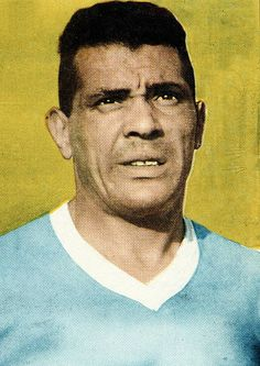 Football 1950 World Cup Finals A portrait of Obdulio Varela the Uruguay World Cup winning captain of 1950 Football Field, Football Players, Montevideo, 1950 World Cup, Fifa, Association Football, World Cup Final, Team S, Goalkeeper