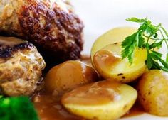 "Danish Food Culture - Recipes - ""Frikadeller"" - Damish Pork Meatballs"