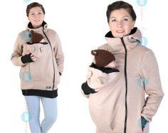 BASIC Babycarrying jacket Baby carrier hoodie Kangaroo
