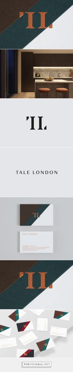 New Graphic Identity for Tale London by Two Times Elliott — BP&O - created via https://pinthemall.net
