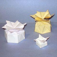 Impariamo l'origami: creiamo la Bomboniere a Stella - Donnaclick