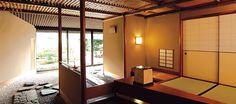 Sukiya style tea room Toko-An at Tokyo Imperial Hotel