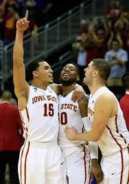 Naz Long, DeAndre Kane, and Georges Niang Isu Basketball, Iowa State Basketball, Iowa State Cyclones, Wrestling, Sports, Lucha Libre, Hs Sports, Sport
