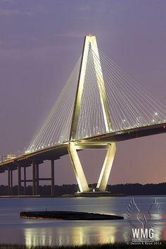 [Puente Ravanel, Charleston, Carolina del Sur] » Ravanel Bridge, SC - Beautiful bridge