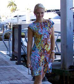 Geometric print casual dress now available @poshmark/JaxCouture and www.BlondiBeachwear.com sizes medium and large left. #shopmycloset #poshmark #fashion #shopping #style #instastyle #instafashion #igstyle #igfashion #forsale #dresses #sundress #ootd #florida