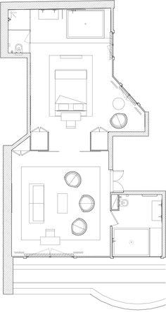 Plan Suite Eiffel