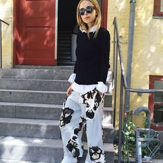 The Malana culottes are perfect for curing the Winter blues. @lookdepernille #bymalenebirger #bmbps16