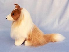 "PDF Collie or Shetland Sheepdog Sewing Pattern SASSIE 12"" High. $8.00, via Etsy."