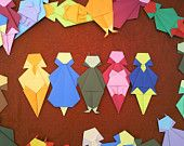 Origami Paper Party People Stereotypes Intended - GIRLS