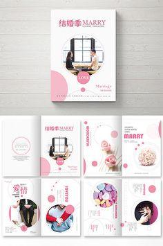 Beautiful wedding feast propaganda Brochure#pikbest#templates Corporate Design, Corporate Brochure, Brochure Design, Brochure Template, Book Design, Layout Design, Graphic Design, Templates, Projects