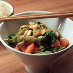 Wok, Nom Nom, Recipes, Sweet Potato Recipes, Spinach, Cooking, Ripped Recipes, Cooking Recipes