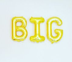 GOLD Big Balloon Gifts for my Big Little/Big Gifts by girlygifts07