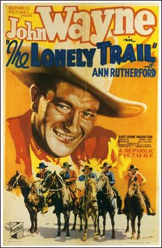 john wayne movies | Ptak Science Books: The Emptiness of John Wayne Movie Posters