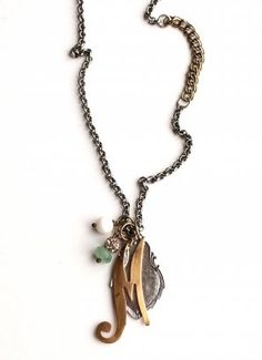 Sheer Addiction Jewelry - Charm Necklace