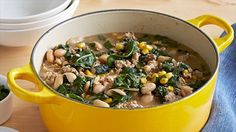 really delicious white bean chili-stew (also great without chicken!)!  http://www.foodnetwork.com/recipes/giada-de-laurentiis/white-bean-and-chicken-chili-recipe.html?oc=linkback