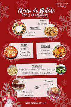 Un Menu Per Il Pranzo Di Natale.180 Idee Su Ricette Di Natale Ricette Dolci Ricette Di Cucina