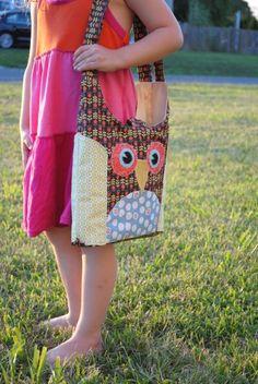 Inspiration for Lydia's owl bag