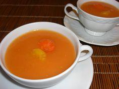 Sopa de cenoura com mandioquinha www.carlafalconi.com.br