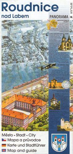Mapa a průvodce městem Roudnice nad Labem
