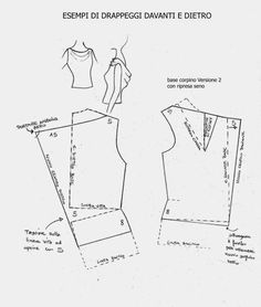 DIY Women's Clothing : Los Cuadernos de Estudio Mania: PATRONES-PATRÓN...  https://diypick.com/fashion/diy-clothes/diy-womens-clothing-los-cuadernos-de-estudio-mania-patrones-patron/