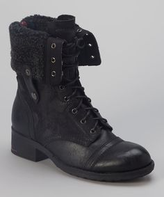 $60 Black Anda Boot on zulily 27 sept