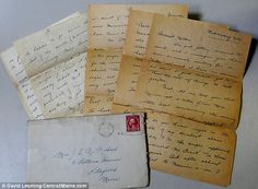 Houlton, Maine school teacher Miriam McMichael sent this letter home to her mother, Dollena McMichael, in 1931. It was finally delivered in May 2014, though both women have since died.