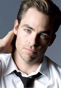 Chris Pine would be a good Ben Potter. Hair is a touch dark, but we can work with that.
