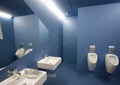 Blue Bathroom Ideas Tips and Design Blue Bathroom Paint, Blue Bathrooms, Paint Ideas, Bathroom Ideas, Mirror, Tips, Painting, Furniture, Design