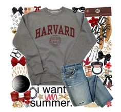 5l6. harvard (: by danielleex on Polyvore featuring polyvore fashion style K Jacques H&M Forever 21 MAC Cosmetics Hourglass Cosmetics Mary Kay Victoria's Secret Guide London C.R.A.F.T. Aerie