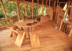 STOOL at bamboo houses shape ibuku's green village community Bali  http://www.designboom.com/weblog/read_2.php?CATEGORY_PK=9_PK=24255