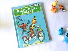 The Sesame Street Library. Volume 2. Vintage Children's Book. Educational Book. Ernie. Bert. Cookie Monster. by AntVillage on Etsy