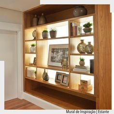 Light becomes a part of decoration when it is used to highlight objects, te Living Room Designs, Living Room Decor, Living Spaces, Bedroom Decor, Living Room Partition, Room Partition Designs, Plafond Design, Light In, Interior Decorating