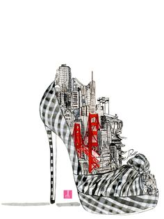 SF shoe illustration