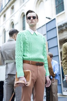 Acne Menswear SS 2012-- love the sweater