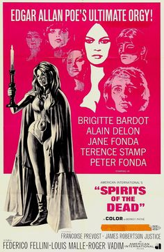 Spirits of the Dead (1968) aka Histoires Extraordinaires