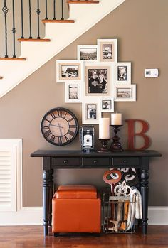 Create a wall in your house dedicated to your furry family member.