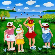 Ladies Leaque by Pat Olson
