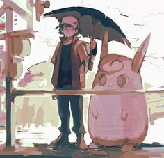 Red and Wigglytuff.