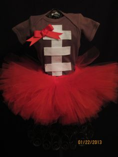 Football Tutu Outfit on Etsy, $26.00