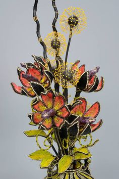Wonderful Bead Artwork by Nancy Josephson featured Eye Candy in recent Bead-Patterns.com Newsletter!