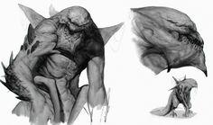 ArtStation - Creature Sketches 05 (Mammoth), Sergiy Kasianchuk