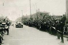 Corrida de automóveis na Avenida Paulista em 1924. #SPInFoco