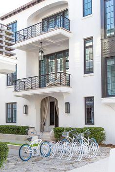 Architecture Dream Home Design, House Design, Alys Beach Florida, New Urbanism, Mediterranean Homes, Mediterranean Architecture, Mediterranean Recipes, Moorish, Tropical Houses