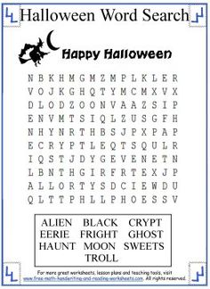 Halloween Printable Coloring Sheets and Activities  Halloween