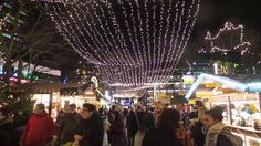 The Christmas Market at Potsdamer Platz.