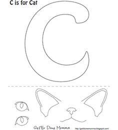 letter g coloring page gorilla goat guitar grass from. Black Bedroom Furniture Sets. Home Design Ideas