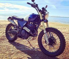 BikeBound — On BikeBound.com: Mutant Dominator! Honda #NX650...