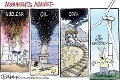 Best climate change cartoons:  'It's in my backyard!'
